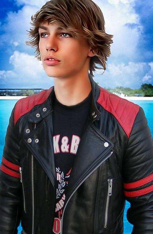Pin By Cj Golden On Denim Leather Boys Boys Leather Jacket Mens Leather Pants Teenage Boy Fashion [ 1530 x 1000 Pixel ]