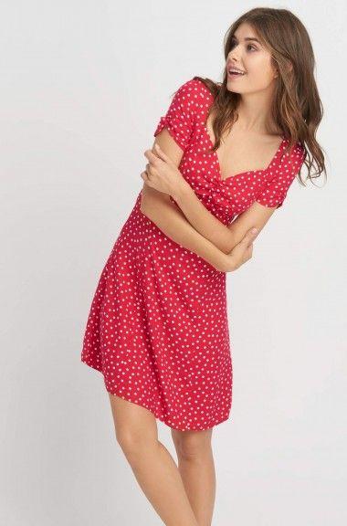 kleid mit muster | schöne kleider, sommerkleid, kleider