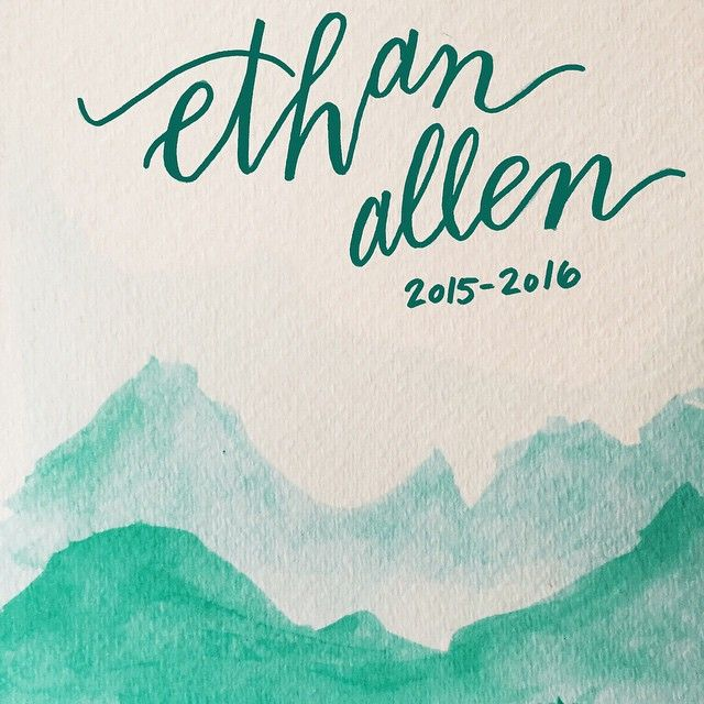 As a full time elementary teacher and part time handlettering lover, I got to work on a fun collaborative project.