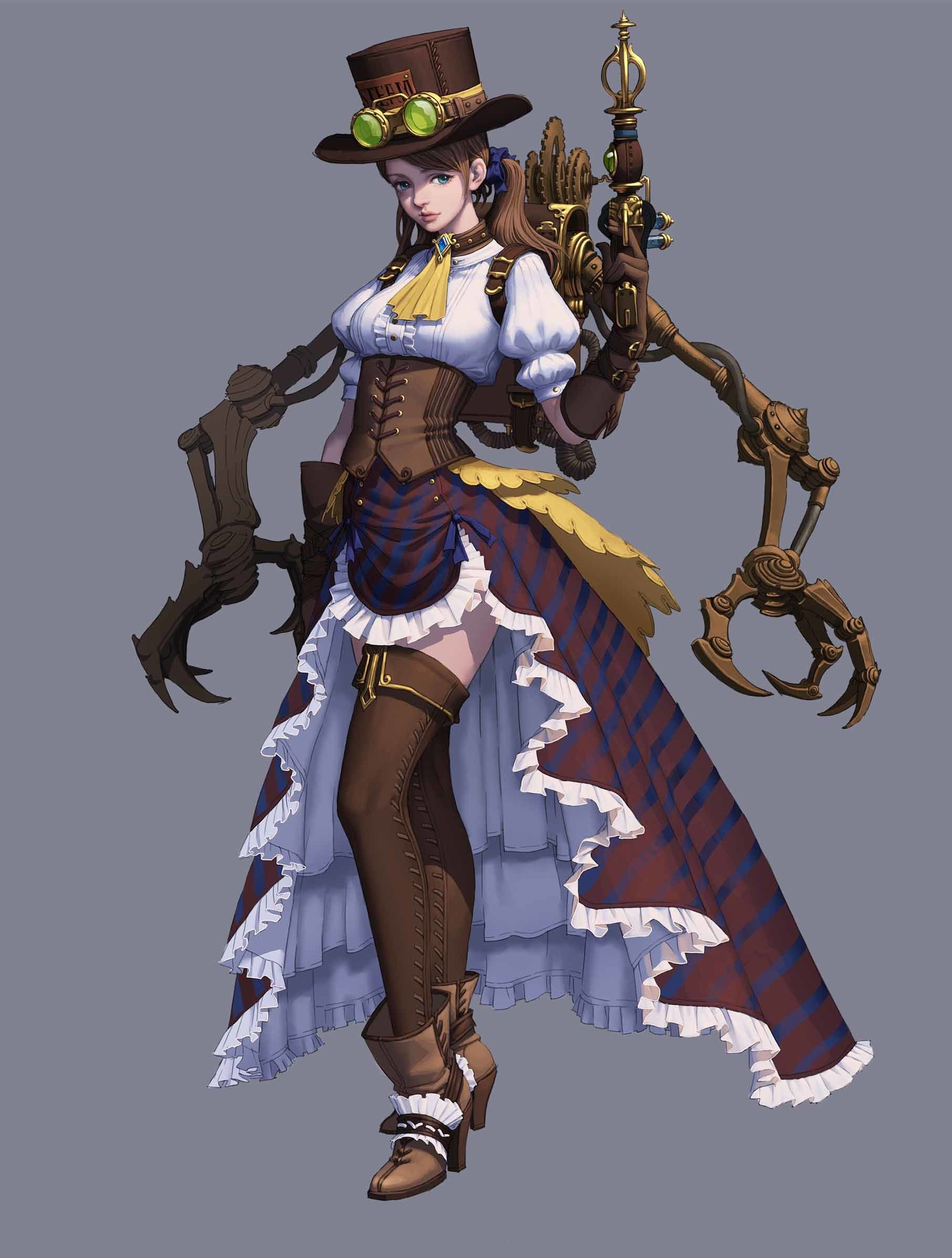 41+ Steampunk character ideas in 2021