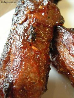 Grilled Sweet and Spicy Chili Pork Ribs
