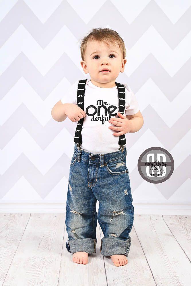 First Birthday Boy Outfit DIY Iron On Transfer Mr One Derful