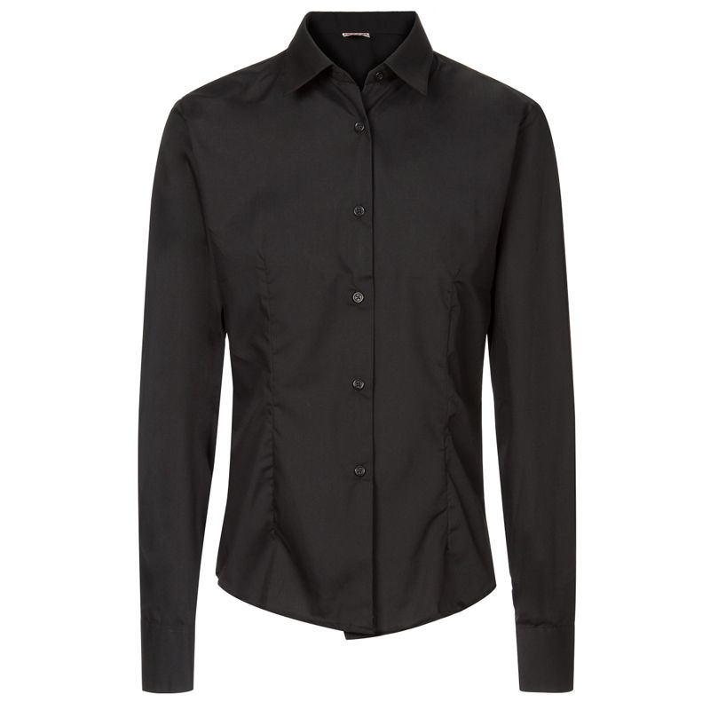 Camisa hombre Artel negra manga larga