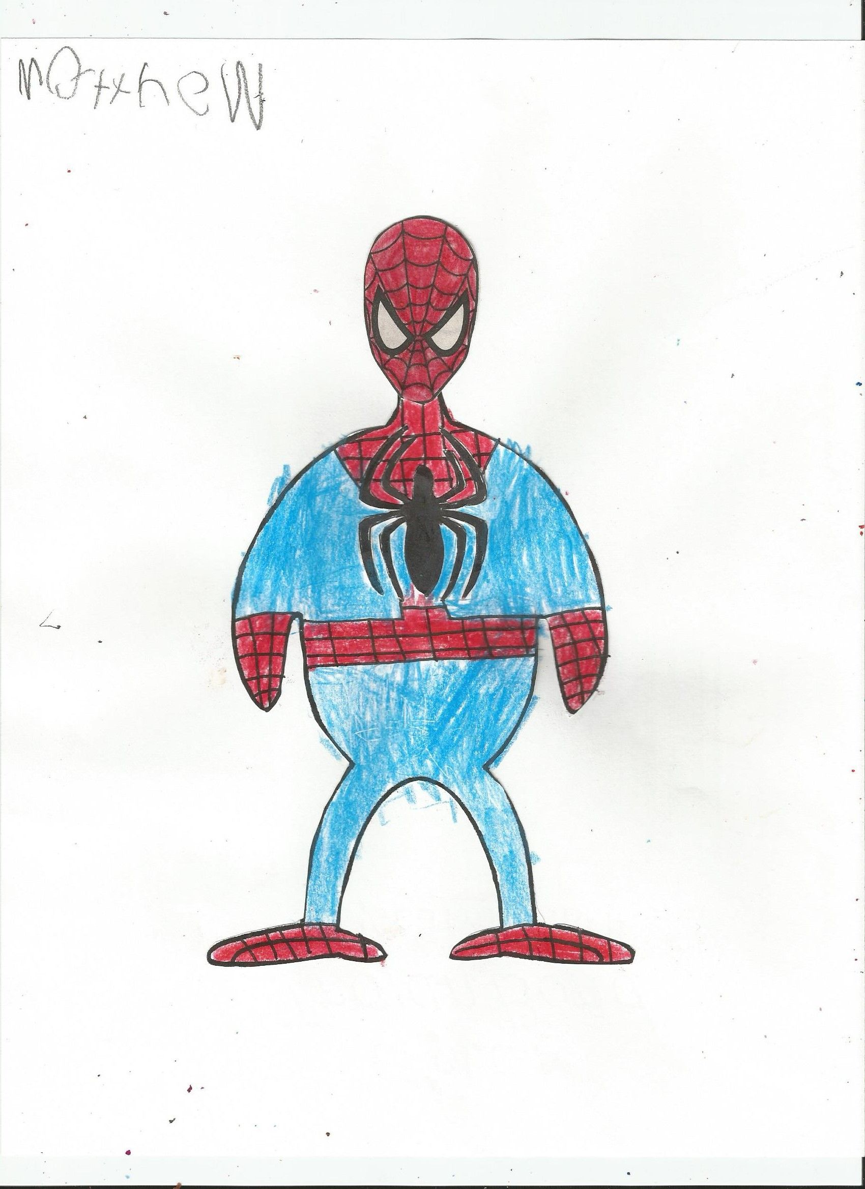 The Turkey Disguise Project I M Not A Turkey I Am Spider Man