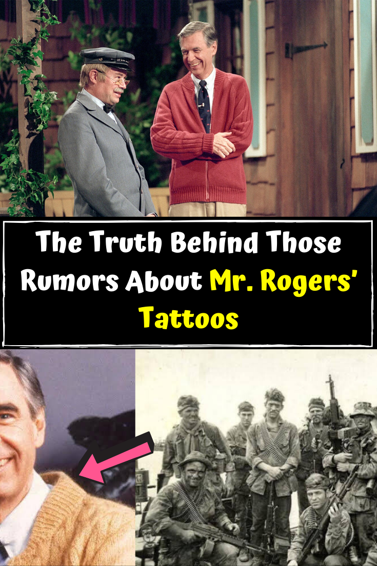 The Truth Behind Those Rumors About Mr Rogers Tattoos Vietnam Sniper Career And More Viral Pins Viral Mr Rogers