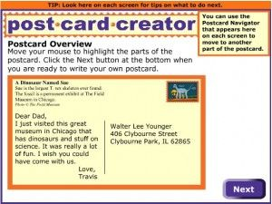 Read Write Think Postcard Creator Teaching Literacy In The Early Years Reading Writing Teaching Educational Technology