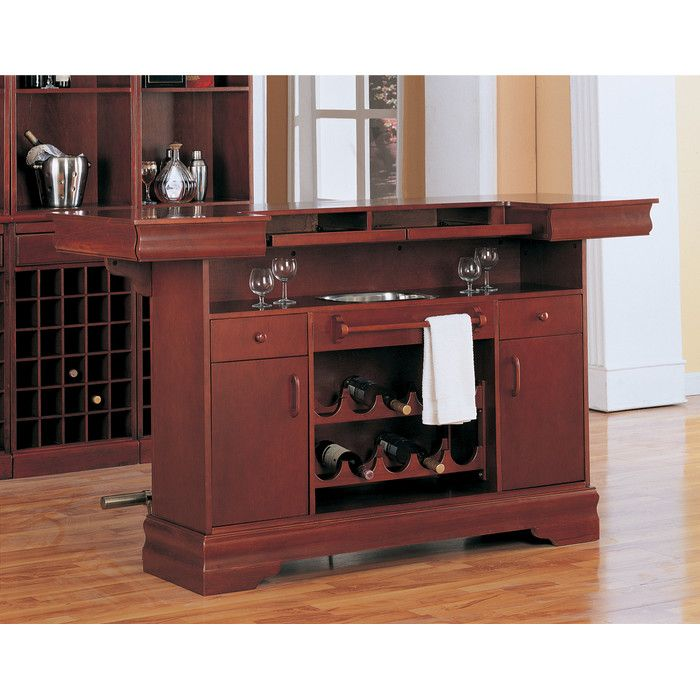 Garrard Home Bar With Wine Storage