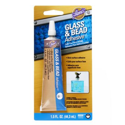 Aleene S Glass And Bead Adhesive Colle Pour Verre Et Billes Glass Bottle Crafts Glass Glue Glass Adhesive