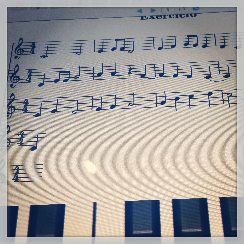 Exercício de partitura