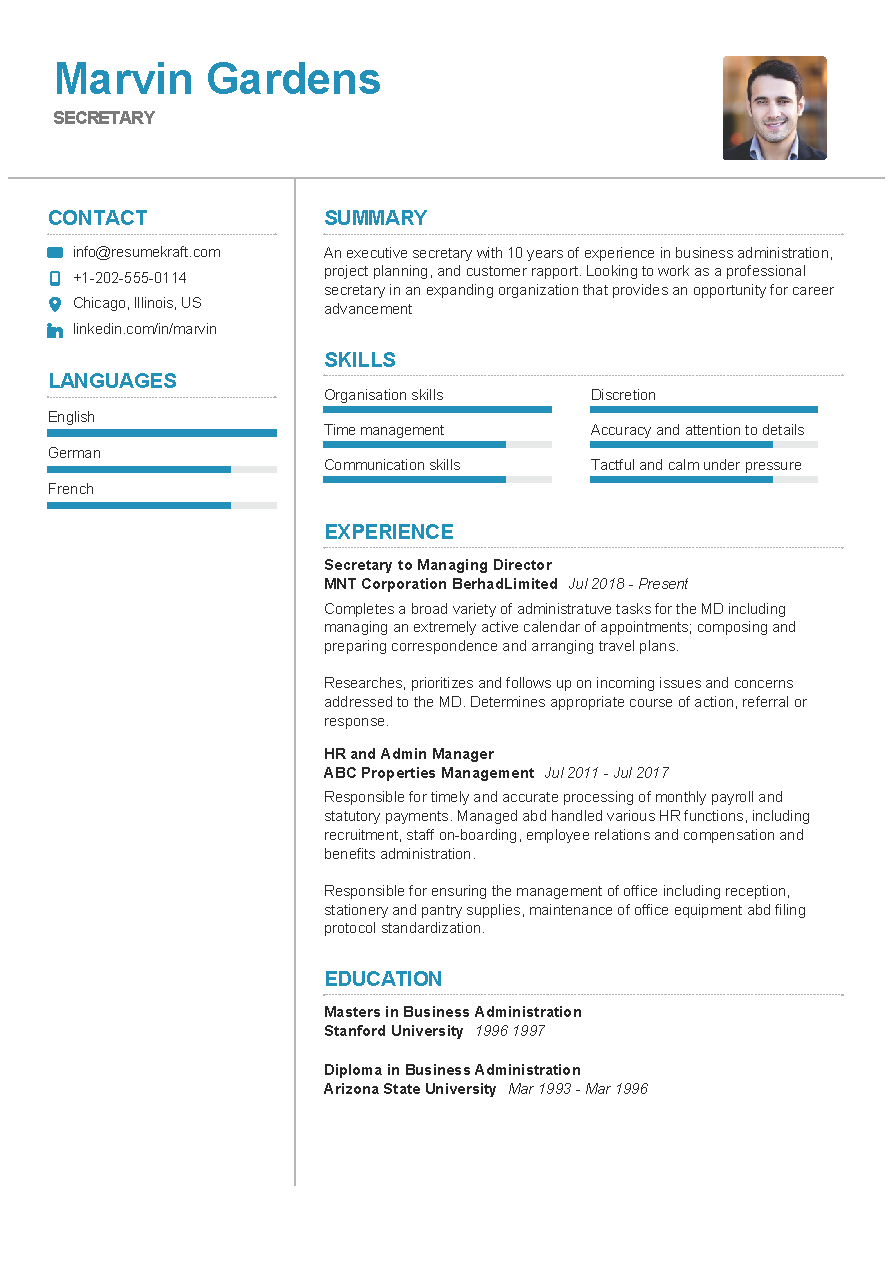 100 Professional Resume Samples For 2020 Resumekraft Job Resume Format Professional Resume Samples Resume