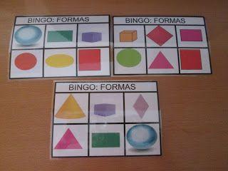 Figuras Geometricas Bingo Bingo Figuras Geometricas