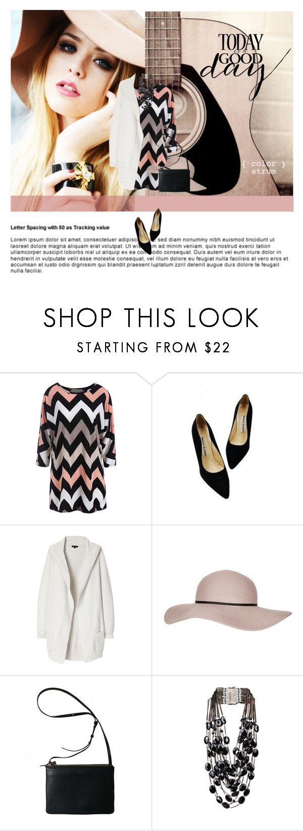 """""""Zig Zag Dress"""" by colierollers ❤ liked on Polyvore featuring Theory, Topshop, Rosantica, women's clothing, women's fashion, women, female, woman, misses and juniors"""