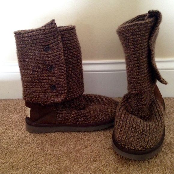 UGG boots Worn once. Perfect condition and extremely comfortable! UGG Shoes Winter & Rain Boots