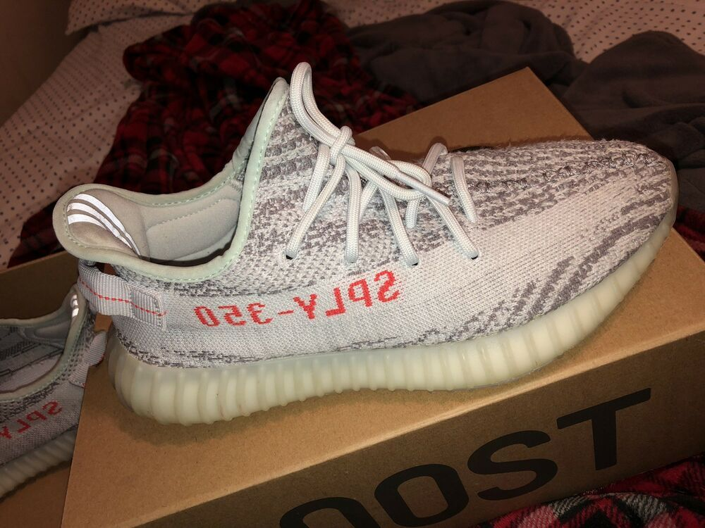 cheap for discount e82bb 52f81 Yeezy V2 Blue Tint Size 9 #fashion #clothing #shoes ...