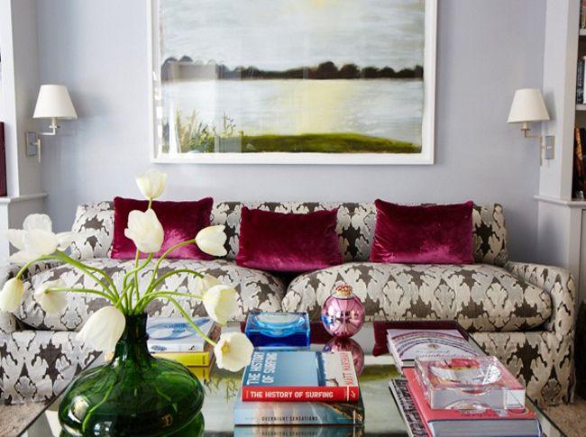 Rita Konig S Website Modern Interior Decor Modern Chic Living Room Colorful Apartment
