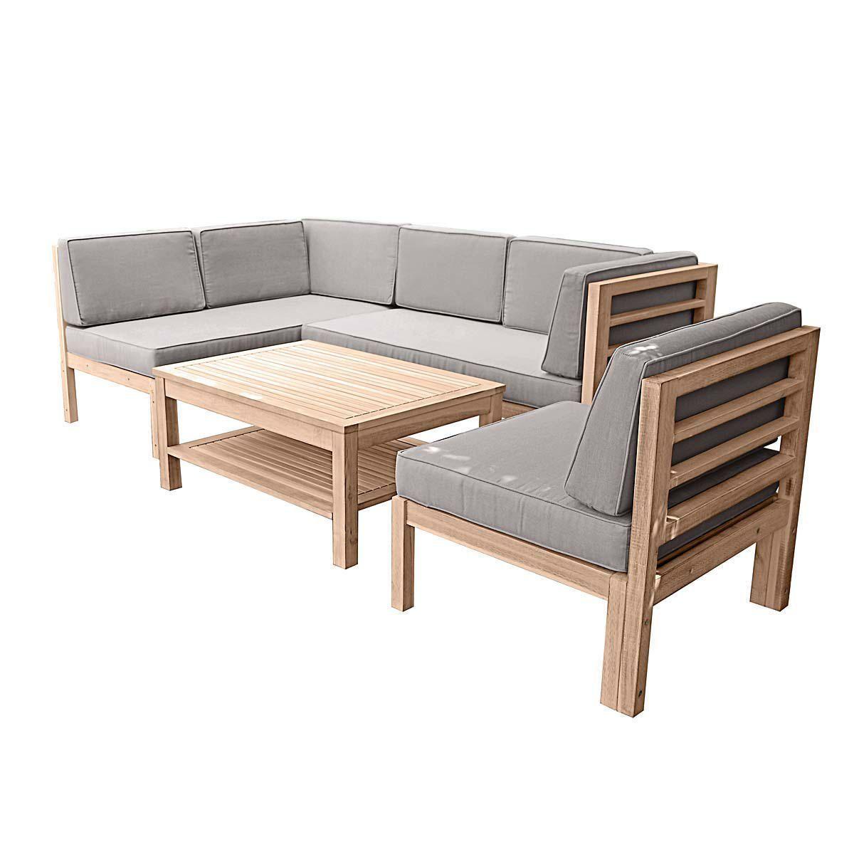 Gartenmöbel Set Holz 3-tlg | Articles and Detail