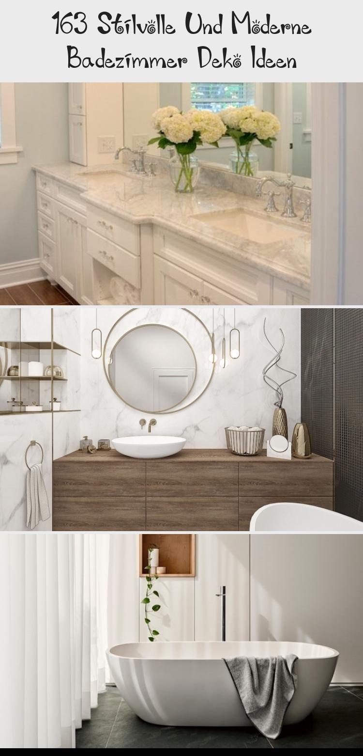 163 Stilvolle Und Moderne Badezimmer Deko Ideen Decor Bathroom