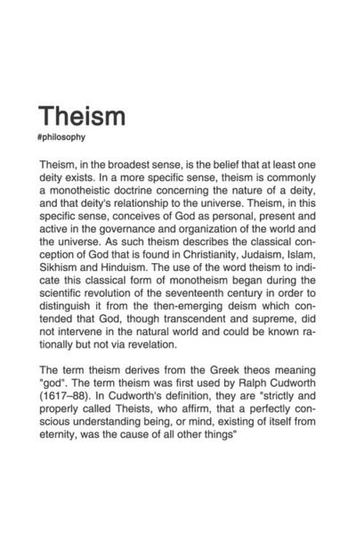 God Irreligion General Concepts 10 10 Theism Existentialism Philosophy Philosophy Books Philosophy Quotes