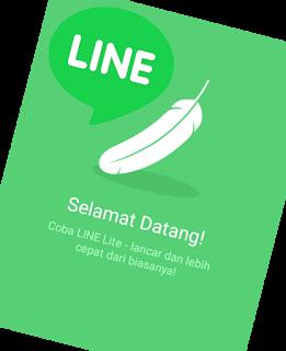 cara menggunakan line dengan cepat dan hemat quota dengan line lite
