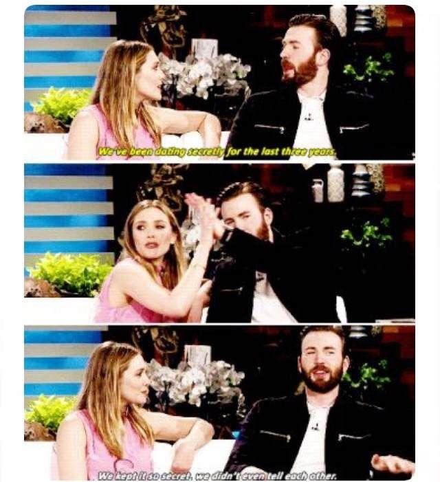Sheer Relationship Goals Chris Evans Avengers Celebrities