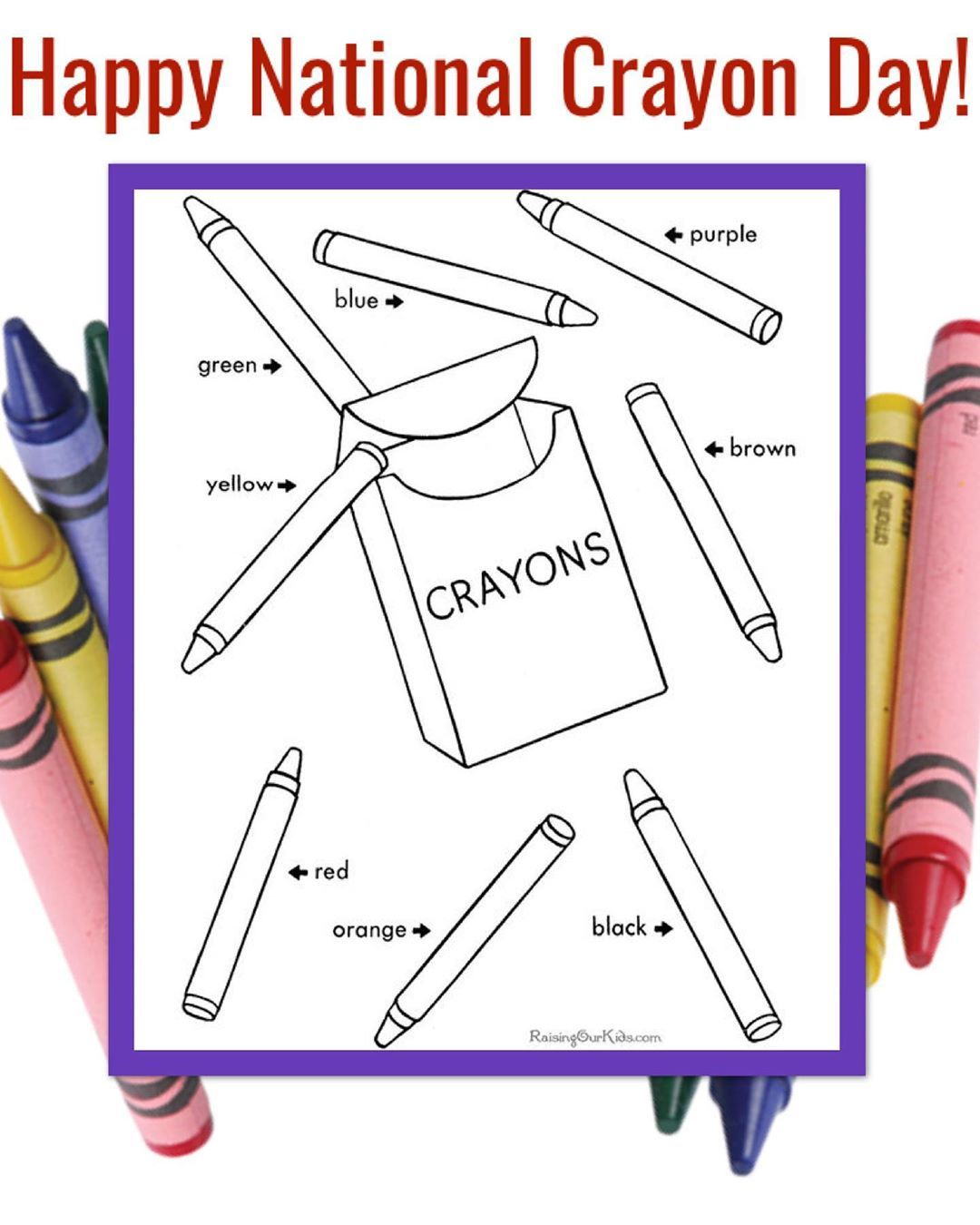 Interactive Printables On Instagram I Found This Adorable Coloring Page On Havycrafts Com And I Had T Crayon Days Printable Coloring Pages Printable Coloring