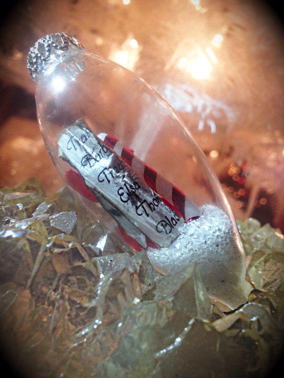 Custom ornaments Bottles glass or glowing by ArielsTreasureTroves