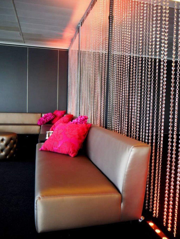 Multi Color String Curtain Fringe Panel Room Divider: Beaded Curtains Bring Fascination Back