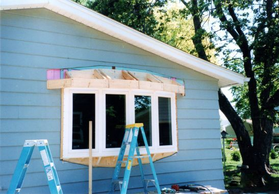 Quot Bow Window Quot Roof Framing Google Search Windows