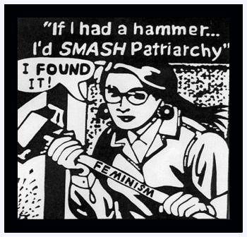 fight patriarchy everywhere you meet it