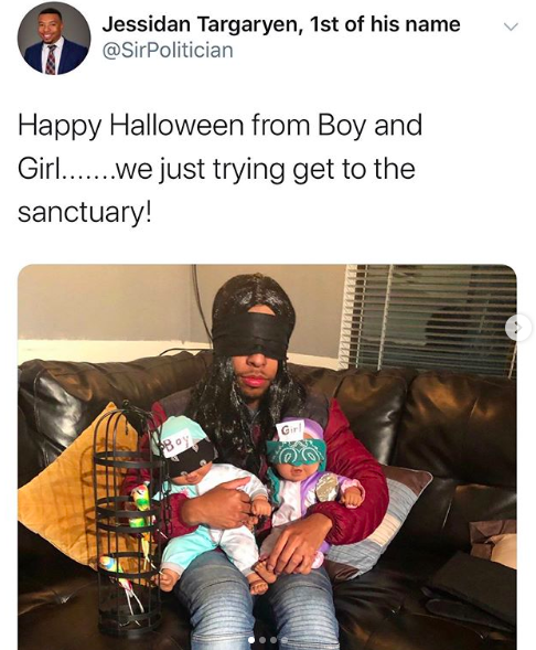 11 People Who Pulled Off The Best Meme Costumes Of 2019 In 2021 Meme Costume Best Memes Cool Costumes