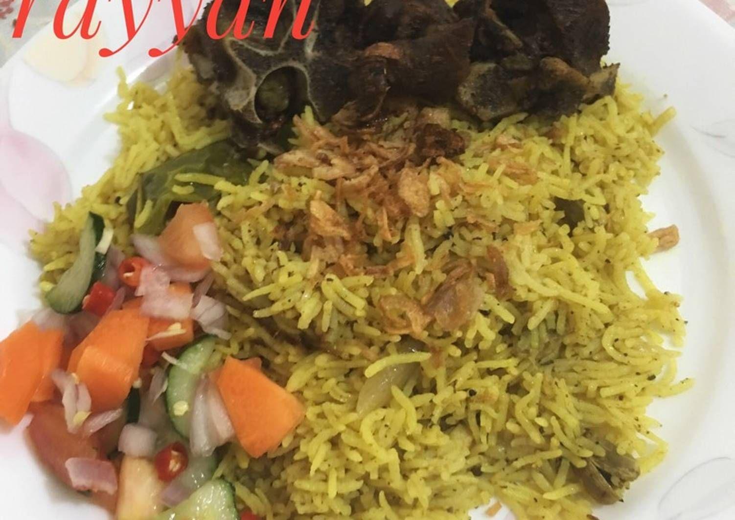 Resep Nasi Kebuli Resep Asli Bukan Kw Oleh Ummu Rayyan Resep Rebusan Daging Rebusan Resep