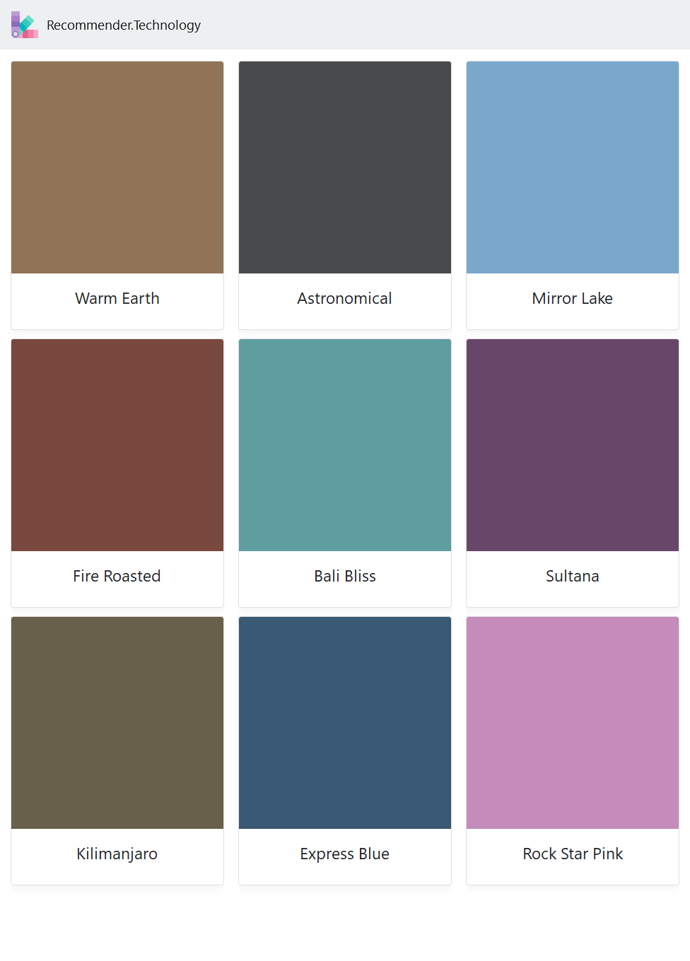Warm Earth Fire Roasted Kilimanjaro Astronomical Bali Bliss Express Blue Mirror Lake Sultana Rock St Behr Paint Colors Paint Color Palettes Shasta Lake [ 1360 x 976 Pixel ]