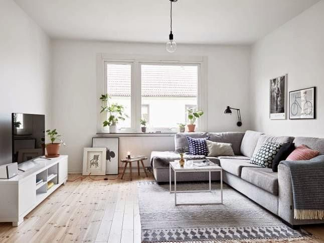 Inspiraci n deco estilo n rdico en un piso neutro for Salones para pisos
