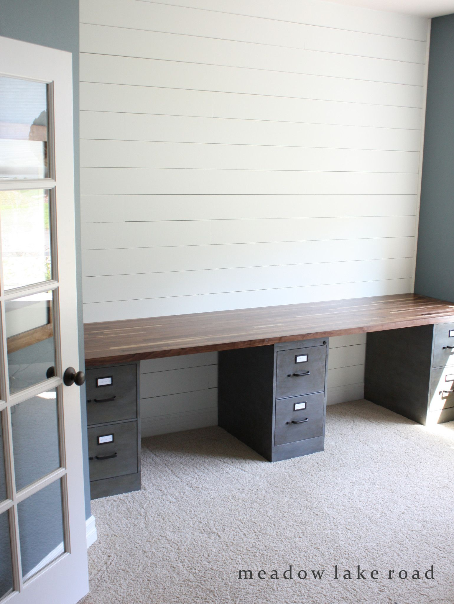butcher block desk top