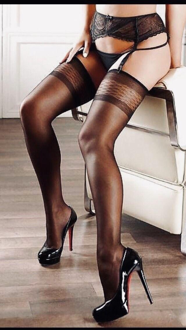 Leather garter bows garter stockings garter belt sexy