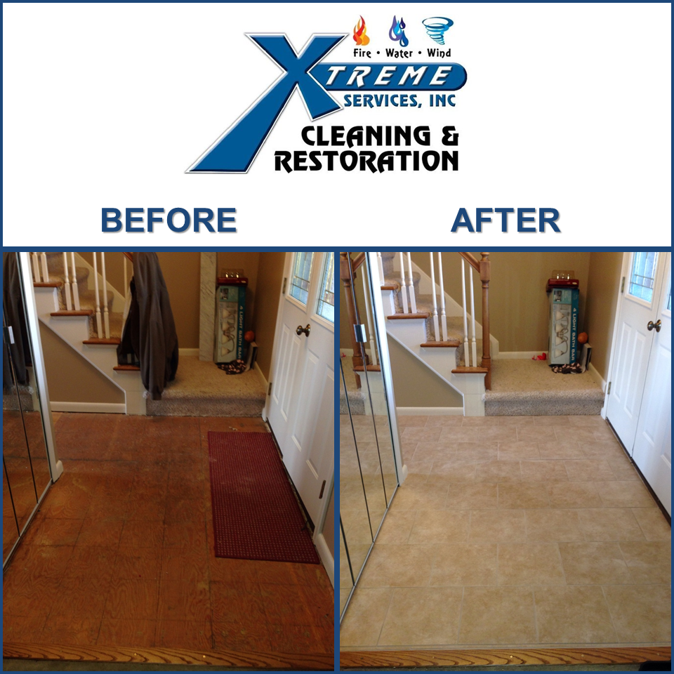 Flooring Before & After! Xtreme Services Cleaning