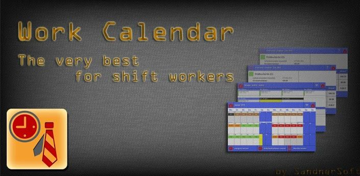 Work Calendar v3.0.13 apk  Requirements:Android 2.1+  Overview:You are shiftworker or have changing working-time or schedule?  It bugs you to setup every single calendar entry according to your work schedule?  Have a look at Work Calendar!