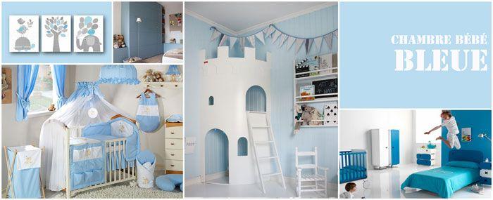 Emejing Deco Chambre Bebe Gris Bleu Contemporary - Design Trends