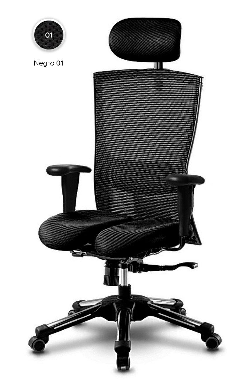 silla #oficina #ergonomica y #transpirable. Para evitar la ...