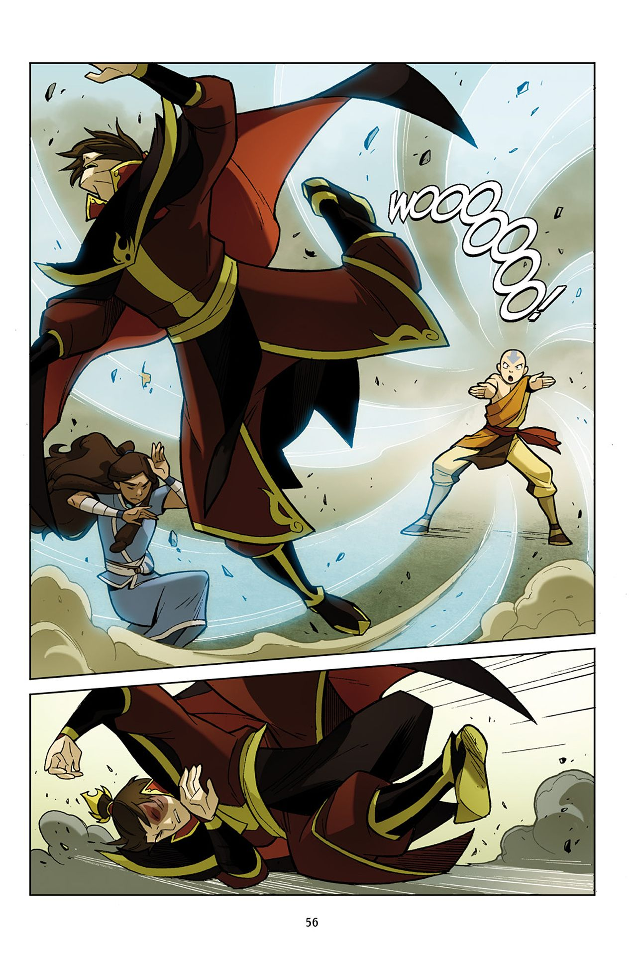 Nickelodeon avatar the last airbender the promise part