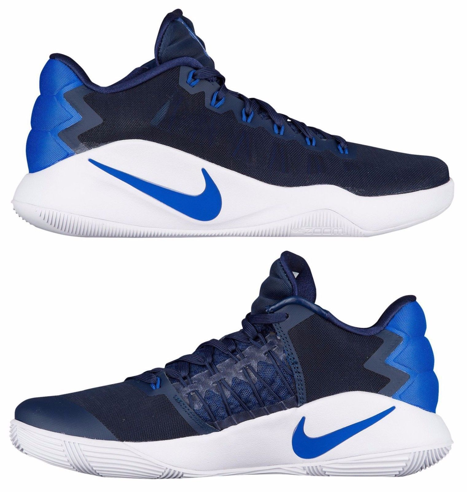 c07944740715 NIKE HYPERDUNK 2016 LOW MEN S BASKETBALL MIDNIGHT NAVY - GAME ROYAL - PHOTO  BLUE