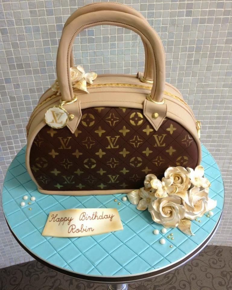 de469c056c3e Purse Inspired Birthday Cake Ideas For Women