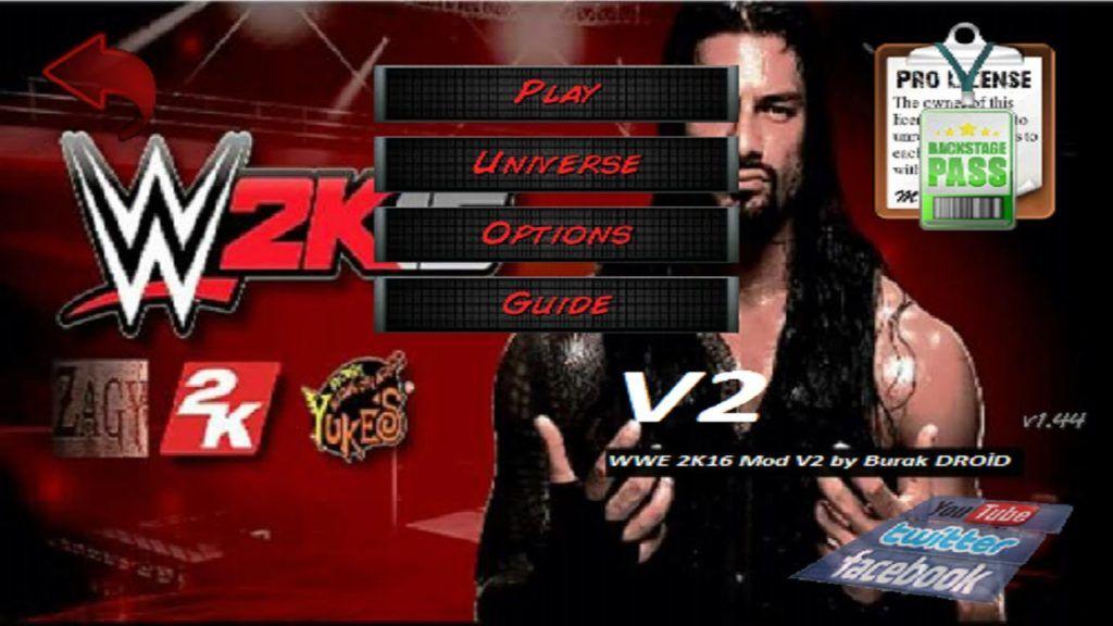 wrestling revolution pro license free download android