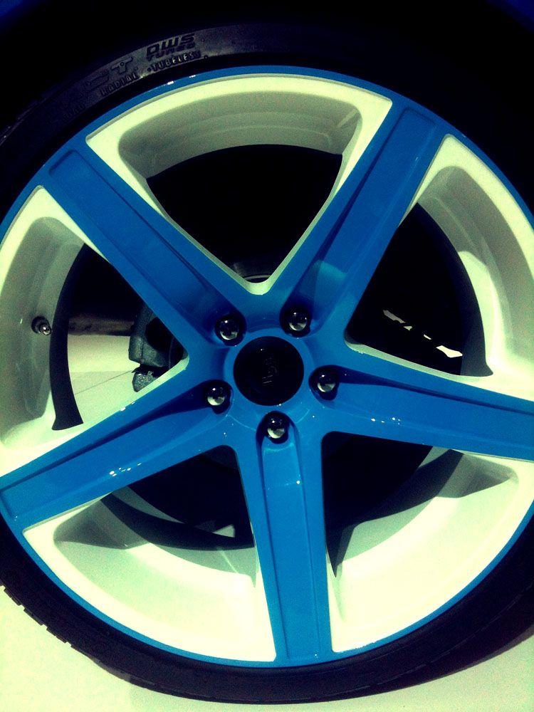 Chicago Auto Show Wheel Study Kia aftermarket. I could