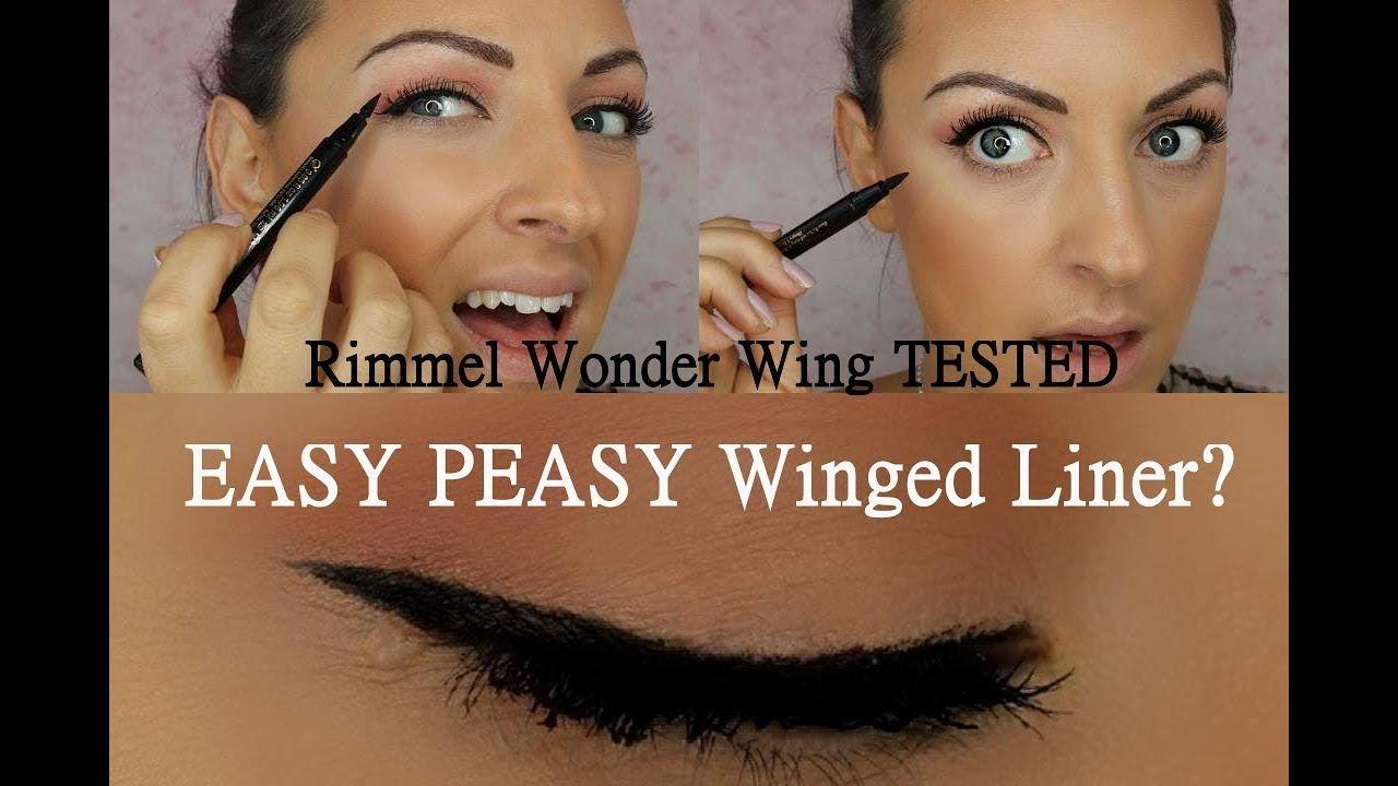 b0642cbdf34 Hooded eyes -- NEW Rimmel Wonder Wing eye liner stamp - Does it work ...