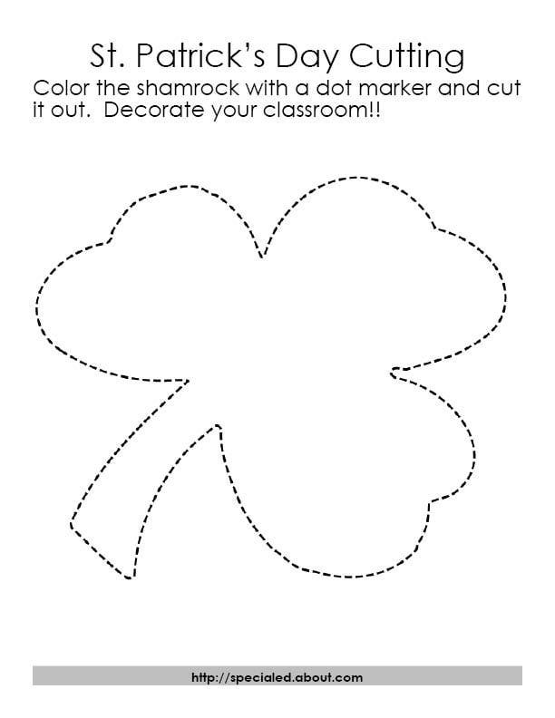 Art Activities For St PatrickS Day With Free Printables  Art