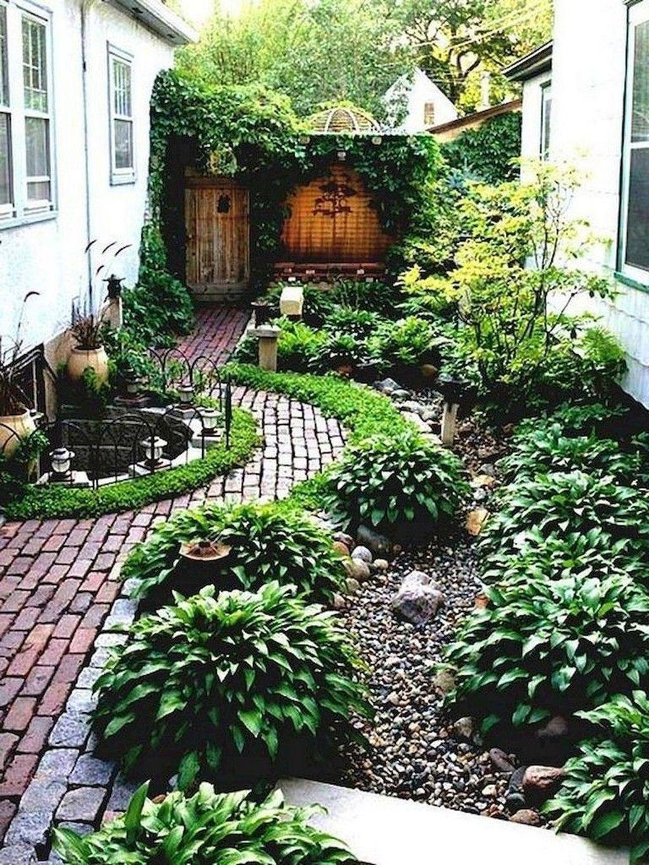 20+ Cute Front Yard Landscaping Design Ideas | Small ... on Cute Small Backyard Ideas id=63942