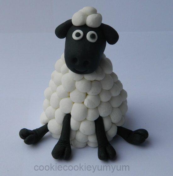 1 edible SHEEP 3d LARGE cake decoration TOPPER farm barnyard animal gumpaste sugarcraft lamb by cookiecookieyumyum on Etsy https://www.etsy.com/listing/243778950/1-edible-sheep-3d-large-cake-decoration