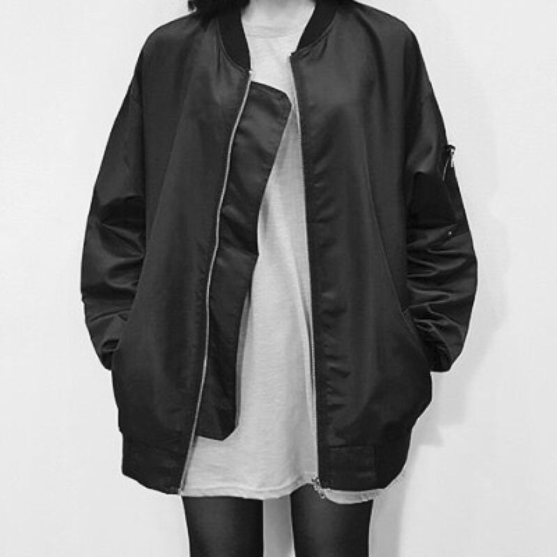 Oversized bomber jacket | Fashion, Streetwear fashion