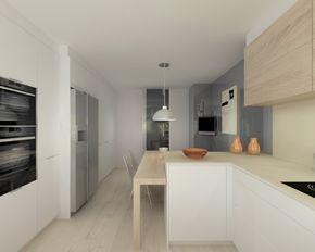 proyectos de cocina en madrid   Home   Pinterest   Cocina moderna ...
